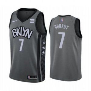 Brooklyn Nets Kevin Durant Gray Jersey